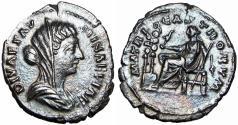 Ancient Coins - Diva Faustina Junior. Died AD 175/6. Rare.