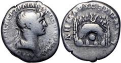 Ancient Coins - CAPPADOCIA, Caesarea. Trajan. 98-117 AD. AR Didrachm.
