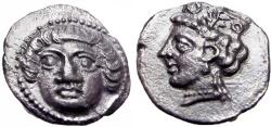 Ancient Coins - CILICIA, Tarsos. Circa 389-375 BC. Exteremly rare and stunning details !!!!!