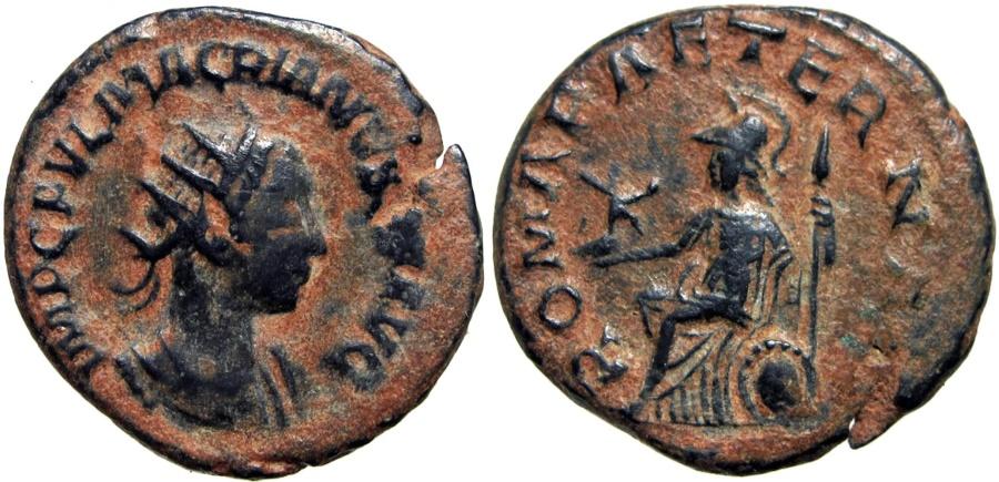 Ancient Coins - Macrianus. Usurper, AD 260-261.