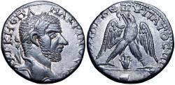 Ancient Coins - JUDAEA, Aelia Capitolina (Jerusalem). Macrinus. CE 217-218. Stunning for the type!!