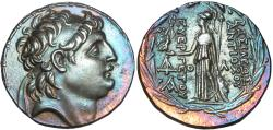 Ancient Coins - Seleukid Kings of Syria, Antiochos VII Euergetes (Sidetes) ; circa 138-129 BC.