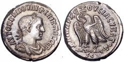 Ancient Coins - SYRIA, Seleucis and Pieria. Antioch. Philip II.. 247-249 AD. Very rare and superb !!!