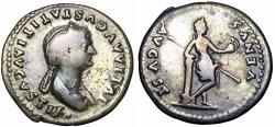 Ancient Coins - Julia Titi. Augusta, A.D. 79-90/1.  large flan, well centered.