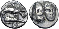 Ancient Coins - Moesia. Istrus circa 400-300 BC.