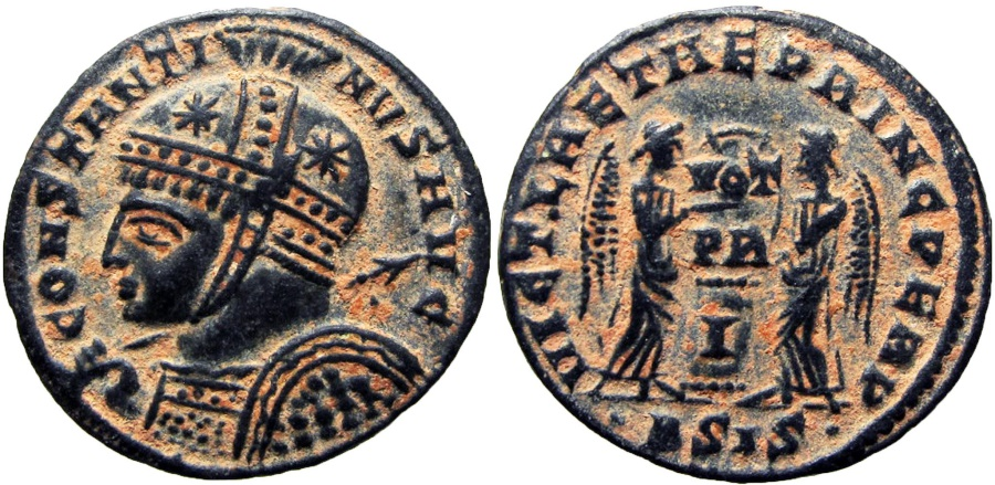 Ancient Coins - Constantine I. AD 307/310-337. Lovely example !!!