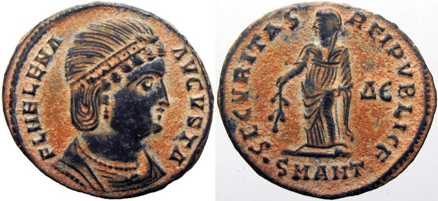 Ancient Coins - Helena. Augusta, AD 324-328/30. Stunning details !!!!