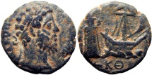 Ancient Coins - EGYPT, Alexandria. Commodus. 177-192 AD.