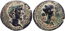Ancient Coins - CILICIA, Eirenopolis. Marcus Aurelius, with Faustina Junior. 161-180 AD.