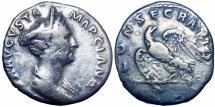 Ancient Coins - Marciana. Augusta, circa AD 105-112/4.