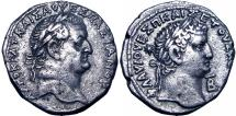 Ancient Coins - Vespasian and Titus. 69-79 AD.