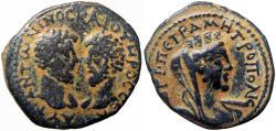 Ancient Coins - SYRIA, Decapolis. Petra . Marcus Aurelius & Lucius Verus. AD 161-169.
