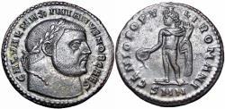 Ancient Coins - Galerius AE Follis. 308-310 AD. as  Caesar, read note.