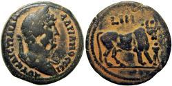 Ancient Coins - EGYPT, Alexandria. Hadrian. AD 117-138.  An iconic Alexandrian reverse type.
