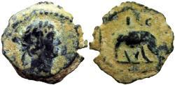 Ancient Coins - EGYPT, Alexandria. Trajan. AD 98-117. Rare African Elephante type.