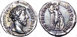 Ancient Coins - Marcus Aurelius. AD 161-180.  Choice coin !!!