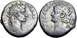 Ancient Coins - EGYPT, Alexandria. Augustus and Nero , 54-68 AD.