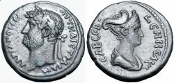 Ancient Coins - Egypt. Alexandria. Hadrian and Sabina, AD 117-138. Extremely rare.
