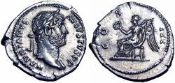 Ancient Coins - Hadrian. AD 117-138. Superb coin.