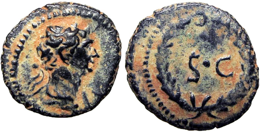 Ancient Coins - SYRIA, Seleucis and Pieria. Antioch. Trajan. AD 98-117. Lovely and bold for the type !!!!