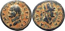 Ancient Coins - SYRIA, Seleucis and Pieria. Antioch. Vespasian. AD 69-79.  Rare !!!!