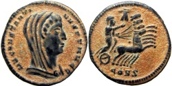 Ancient Coins - Divus Constantine I. Died AD 337. struck on board flan with Natural patina !!!