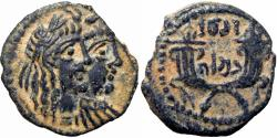 Ancient Coins - NABATAEA. Rabbell II, with Gamilat. AD 70-106.