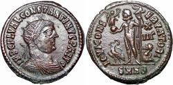 Ancient Coins - Constantine I. AD 307/310-337. Choice large flan.