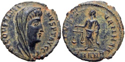 Ancient Coins - Constantine I, posthumous, struck by Constantius II, AD 342-347 ;stunning example !!!!