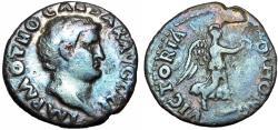 Ancient Coins - OTHO. 69 AD. AR Denarius,  Scarcer reverse type.
