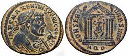 Ancient Coins - MAXENTIUS. 306-312 AD.