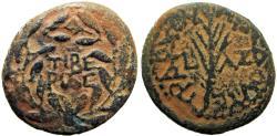 Ancient Coins - JUDAEA , Idumaean , Herodians. Herod III Antipas. 4 BCE-39 CE.