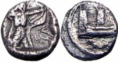 Ancient Coins - Phoenicia, Sidon. 410- 400 B.C.