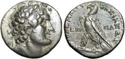 Ancient Coins - Ptolemaic Kingdom of Egypt, Ptolemy VIII Euergetes .