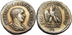 Ancient Coins -  SYRIA, Seleucis and Pieria. Antioch. Philip II. As Caesar, AD 244-247. superb toning !!!