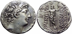 Ancient Coins - SELEUKID KINGS of SYRIA. Antiochos VIII Epiphanes (Grypos). 121/0-97/6 BC.,  Ake-Ptolemaïs mint.