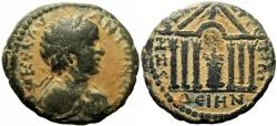 Ancient Coins - BIBLICAL , Decapolis. Dium. Caracalla. AD 198-217.