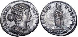 Ancient Coins - Fausta. Augusta, AD 324-326.