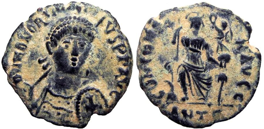 Ancient Coins -  Honorius. AD 393-423.