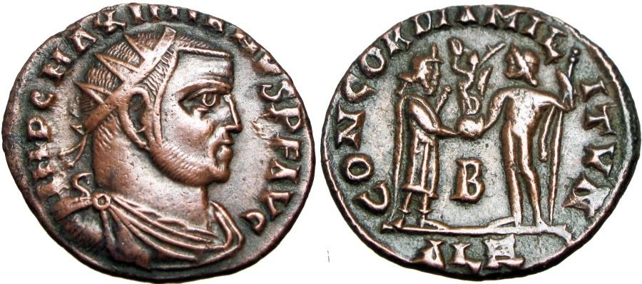 Ancient Coins - MAXIMIANUS. First Reign, 286-305 AD.