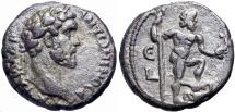 Ancient Coins - EGYPT, Alexandria. Antoninus Pius. AD 138-161., Poseidon  reverse .
