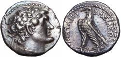 Ancient Coins - Ptolemaic Kingdom of Egypt, Ptolemy VI Philometor (180-145 BC).