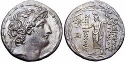 Ancient Coins - SELEUKID KINGS of SYRIA. Antiochos VIII Epiphanes (Grypos). 121/0-97/6 BC. Ake-Ptolemaïs mint.