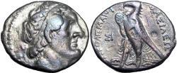 Ancient Coins - Ptolemaic Kings of Egypt, Ptolemy II AR Tetradrachm. Sidon, circa 285-246 BC.