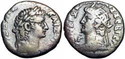 Ancient Coins - EGYPT, Alexandria. Tiberius and Nero, . 54-68 AD.