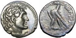Ancient Coins - Ptolemaic Kingdom of Egypt, Ptolemy VI AR Didrachm.