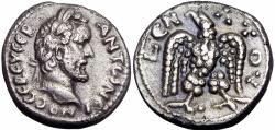 Ancient Coins - EGYPT, Alexandria.  Antoninus Pius BI Tetradrachm . Year 9, AD 145/6.