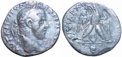 Ancient Coins - JUDAEA, Aelia Capitolina (Jerusalem). Macrinus. AD 217-218. A seemingly unpublished variety of a very rare type.