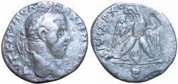 Ancient Coins - JUDAEA, Aelia Capitolina (Jerusalem). Macrinus. AD 217-218. A seemingly unpublished variety of a very rare type.
