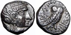 Ancient Coins - ARABIA, Southern. Saba'. Late 4th–mid 2nd centuries BC. stunning and well centered for the type.